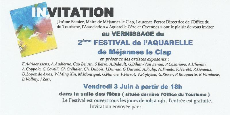 Invitation à Méjannes
